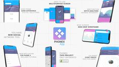 Buy Phonex App Promo Kit by odeniz on VideoHive. Main Features Modern, Minimal, Clean and Dynamic App Promo Kit iPhone X Model Included 8 Different Animated Scene . Network Tools, New Social Network, Folder Organization, Event Poster Design, 2 Logo, Exhibition Poster, Creative Video, After Effects Templates, Wireframe