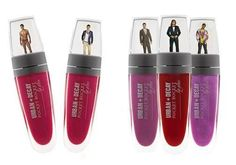 Pocket Rocket Lip Gloss combines naked dudes and gorgeous lip color!