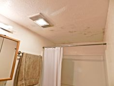 Bathroom black mold removal!