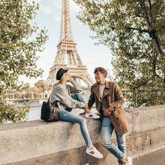 "If the Tour Eiffel is the symbol of Paris, the Cathédrale de Notre-Dame de Paris is its heart. Sitting on the banks of the Seine, this wonderful architectural masterpiece is a definite ""must-see"". Paris Photography, Photography Poses, Travel Photography, Travel Pictures, Travel Photos, Paris Couple, Couples In Paris, Hotel Des Invalides, Fotos Goals"