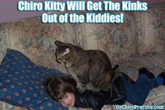 Chiro Kitty Will Get the Kinks Out of Our Kiddies! #GoChiro #ChiroKitty