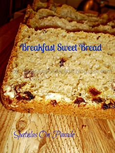 Spatulas On Parade: Breakfast Sweet Bread Muffin Bread, Quick Bread, Sweet Bread, Coffee Cake, Scones, Bread Recipes, Banana Bread, Biscuits, Muffins