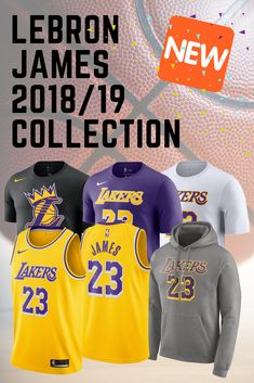 a2e9e8c44 Details about LeBron James 23 Los Angeles Lakers Nike Swingman Jersey  2018 19 Icon Edition NWT