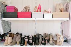 Closet/Office Organization | Chronicles of Frivolity