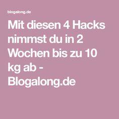 Mit diesen 4 Hacks nimmst du in 2 Wochen bis zu 10 kg ab - Blogalong.de Fitness Workouts, Transformation Body, Good To Know, Food And Drink, Health Fitness, Abs, Healthy, Blog, Sport