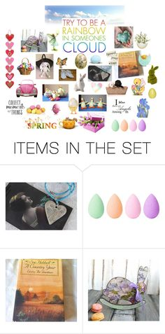 """Try To Be A Rainbow"" by patchworkcrafters ❤ liked on Polyvore featuring art"