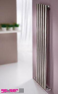 "MHS ""ARC"" Brushed Stainless Designer Radiator #brushedstainlessradiator #stainlesssteelradiator #designerradiator"