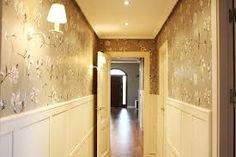 Resultado de imagen de pasillo papel pintado