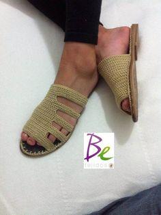 ◇◆◇ sandalias tejidas