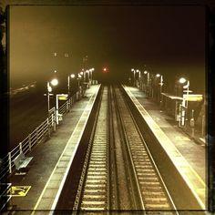 No Return point @ Wandsworth Road Station. Road Train, Train Station, Railroad Tracks, Planes, Trucks, London, Airplanes, Truck, London England