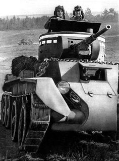 Red Army tankists on a BT tank, the most agile tank of the pre-war period. Some of the technology developed in it was used later in the T-34. Sometime between 1922 and 1941.