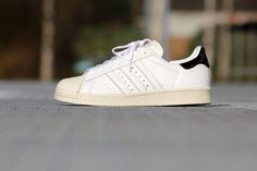new style 638a2 6d798 Adidas Superstar 80 s W White Black - B26392 Adidas Gazelle, Adidas  Superstar, Adidas Sneakers