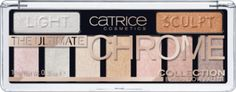 The Ultimate Chrome Collection Eyeshadow Palette 010 Heights And Lights