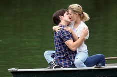 Couple Kissing on Boat Happy Kiss Day