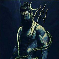 🕉 There is a reason Lord Shiva is called 'The Devo ke Dev Mahadev'. The tranquil looking lord can turn into a destroyer Rudr. Shiva Tandav, Shiva Statue, Shiva Art, Hindu Art, Rudra Shiva, Lord Hanuman Wallpapers, Lord Shiva Hd Wallpaper, Angry Lord Shiva, Aghori Shiva