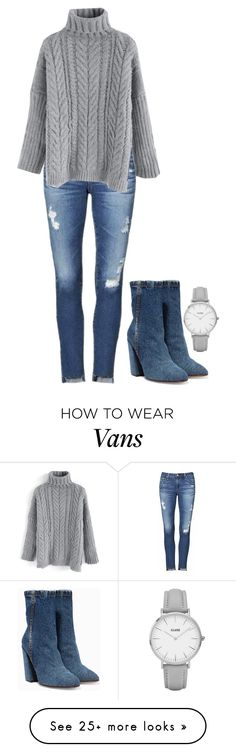 """""""Angie"""" by charlotteh2001 on Polyvore featuring Dries Van Noten, AG Adriano Goldschmied, Chicwish and CLUSE"""