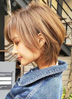 Short Hair Lengths, Short Hair With Layers, Short Hair Cuts, Medium Hair Styles, Curly Hair Styles, Shot Hair Styles, Japanese Hairstyle, Mid Length Hair, Cut My Hair