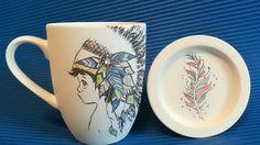 인디언소년 mug cup set Cupping Set, Mug Cup, Mugs, Tableware, Dinnerware, Tumblers, Tablewares, Mug, Dishes