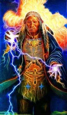The Great Spirit © Sue Dreamwalker Inspiration for the astral form of a shaman casting a spell Native American Artwork, American Indian Art, Native American Indians, Native Americans, Native Indian, Native Art, Indian Heritage, American Spirit, Visionary Art