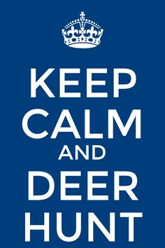 Keep clam and deer hunt
