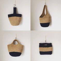 Diy Crochet Bag, Crochet Market Bag, Knit Crochet, Yarn Bag, Boho Bags, Jute Bags, Crochet Handbags, Knitted Bags, Handmade Bags