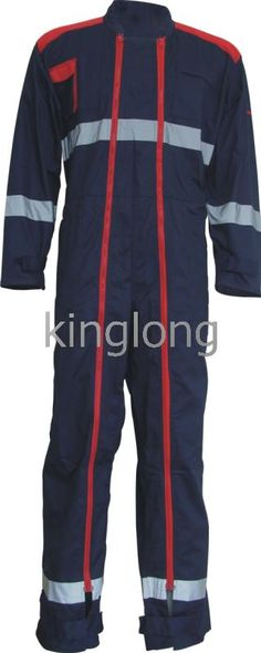special designed coverall with 2 long PVC zippers