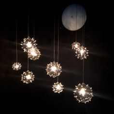 Blown glass. Italian craftsmanship. Creative lighting.