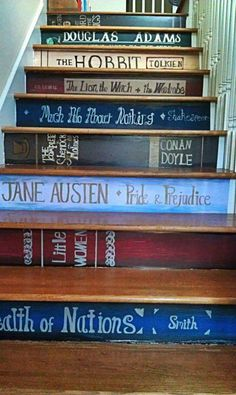 i would change some of the books if it where in my house, but awesome