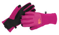 The new Denali Thermal Etip Gloves from North Face are outfitted with touchscreen compatibility. Made of heavyweight high-loft fleece with synthetic gripper palms to ensure a good grip when out in the elements. Available in seven colors, from extra small to large, $35. thenorthface.com