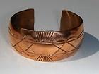 amazing handmade copper jewelry / Copper Cuff