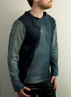 Jackets are a crucial component to every man's set of clothes. Men need jackets for a number of functions as well as some varying weather conditions Revival Clothing, Denim Jacket Men, Men's Denim Jackets, Casual Jackets, Leather Jackets, Kurta Designs, Jacket Style, Men's Jacket, Leather Men
