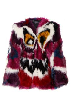 $ 3437 Meadham Kirchhoff | Perri monster faux fur coat | NET-A-PORTER.COM