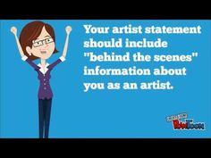 Artist Statement - YouTube