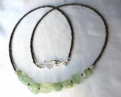 Long boho aquamarine necklace. Everyday by WildThingsAdornments, $24.00
