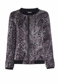 510715 – Jenny Quilted jacket - Abstract