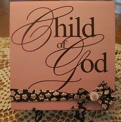 cricut projects with vinyl | Vinyl Projects/Silhouette/Cricut / Child of God