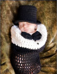 Free shipping newborn baby knitted crochet costume infant baby photography props suits newborn crochet hat photo prop-in Clothing Sets from ...
