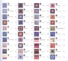200 Crocheted Blocks for blankets, throws & Afghans 007
