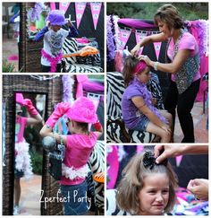 Diva/Glam Rock Star Birthday Party Ideas   Photo 1 of 9   Catch My Party