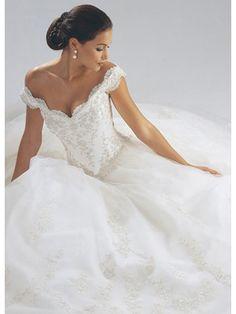 simple elegant lace wedding dress - Google Search