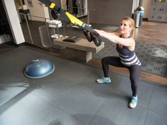 TRX for Pregnancy and Postpartum 5 suspension training exercises for the new mom or mom-to-be.