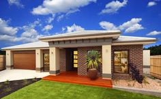 27 fachadas de un piso que debes ver para diseñar tu casa ideal Contemporary House Plans, Modern House Plans, Modern House Design, House Cladding, Facade House, House Exteriors, Exterior House Colors, Exterior Design, Style At Home