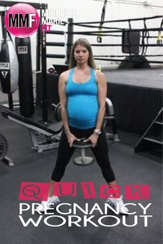Quick Pregnancy #Workout to NOT gain EXCESS weight during #pregnancy.