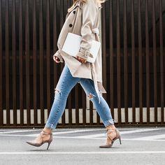 Wer kennt dieses Gefühl, wenn man die Zeit übersehen hat und ganz schnell DEN Schuh braucht, der perfekt zum Outfit passt?! Mehr unter: paul-green.com #paulgreen