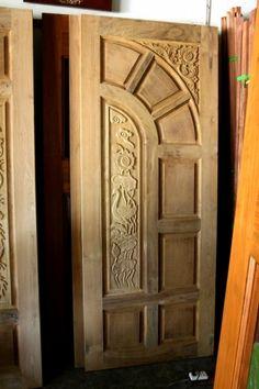 ФОТО – резная мебель, картины, двери, лампочки (NEW) Wooden Front Door Design, Front Gate Design, Double Door Design, Wood Front Doors, House Front Design, Wooden Doors, Main Door Design Photos, Wood Exterior Door, Door Design Interior
