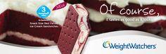 Cherry Cheesecake ice cream sandwish