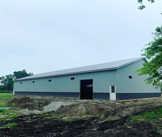 Pole Barn 60x100 Tiffin, Ohio. Tiffin Ohio, Post Frame Building, Pole Barns, Shed, Outdoor Structures, Horses, Warehouses, Horse, Barns