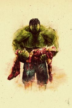 This is why the Hulk is my favorite; a kind heart under the beast.