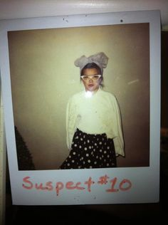 one of my favorite pics of me as a little tike. dressed up as lucille ball for a murder mystery birthday party.