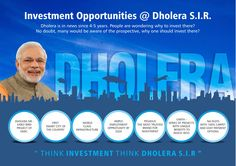 Think Investment, Think Dholera SIR. Early bird project of DMIC. First Smart city of the County. #dholera #DMIC #smartcity